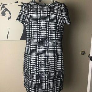 Calvin Klein CD8P58QQ Houndstooth dress size 10